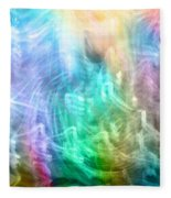 Celestial Light  Fleece Blanket