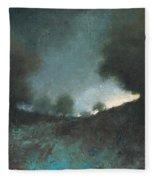 Celestial Place #3 Fleece Blanket
