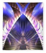 Celestial Portal Fleece Blanket