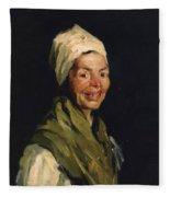 Celestina 1908 Fleece Blanket