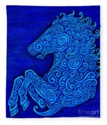 Celtic Horse Fleece Blanket