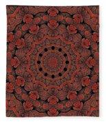 Celtic Key Tile  Fleece Blanket