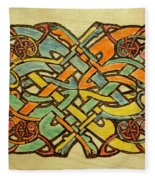 Celtic Knot 1 Fleece Blanket