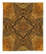 Celtic Mandala Abstract Fleece Blanket