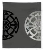 Celtic Shield Fleece Blanket