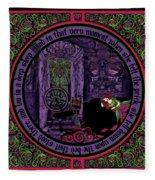 Celtic Sleeping Beauty Part II The Wound Fleece Blanket