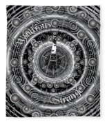 Celtic Wondrous Strange Fleece Blanket