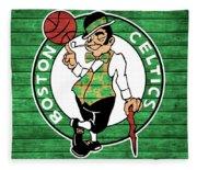 Celtics Barn Door Fleece Blanket