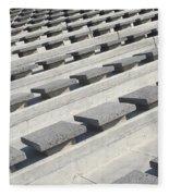 Cement Seats Fleece Blanket