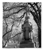 Cemetery 1 Fleece Blanket