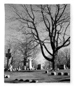 Cemetery 5 Fleece Blanket