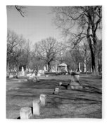 Cemetery 7 Fleece Blanket