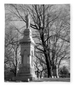 Cemetery 9 Fleece Blanket