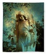Cemetery Angel Fleece Blanket