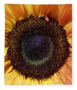 Center Of The Sun Fleece Blanket