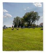 Center Ridge Cemetery Fleece Blanket