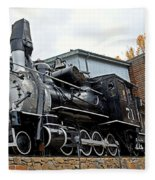 Central City Locomotive Fleece Blanket