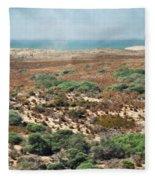Central Coast Sand Dunes II Fleece Blanket