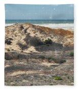 Central Coast Sand Dunes Fleece Blanket