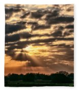 Central Florida Sunrise Fleece Blanket