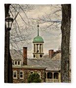 Central Moravian Church - Bethlehem Fleece Blanket