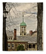 Central Moravian Church - Bethlehem Fleece Blanket