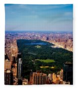 Central Park Fleece Blanket
