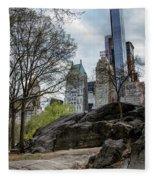 Central Park Views  Fleece Blanket