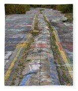 Centralia Graffiti Highway Fleece Blanket
