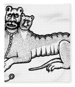 Cerberus Fleece Blanket