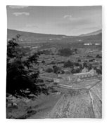 Cerro De La Cruz Bnw I Fleece Blanket