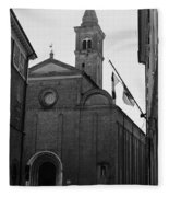 Cesena - Italy - The Cathedral 3 Fleece Blanket