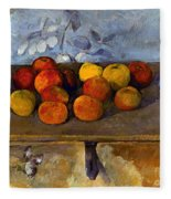 Cezanne: Apples & Biscuits Fleece Blanket