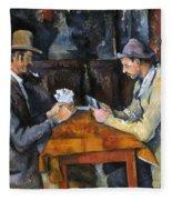 Cezanne: Card Player, C1892 Fleece Blanket