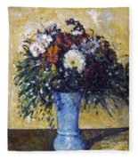 Cezanne: Flowers, 1873-75 Fleece Blanket