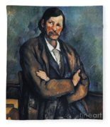 Cezanne: Man, C1899 Fleece Blanket