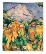 Cezanne: Sainte-victoire Fleece Blanket