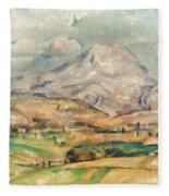 Cezanne: St. Victoire, 1897 Fleece Blanket