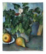 Cezanne: Still Life, C1888 Fleece Blanket