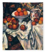 Cezanne: Still Life, C1899 Fleece Blanket