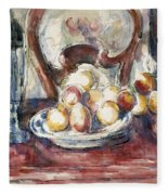 Cezanne: Still Life Fleece Blanket