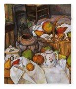 Cezanne: Table, 1888-90 Fleece Blanket