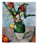 Cezanne: Tulips, 1890-92 Fleece Blanket