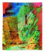 Chaco Culture Abstract Fleece Blanket
