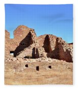 Chaco Ruins  Fleece Blanket