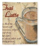 Chai Latte Fleece Blanket
