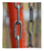 Chains Abstract 3 Fleece Blanket