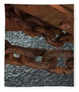 Chains To The Sea Fleece Blanket