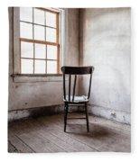 Chair By The Window Grafton Ghost Town Fleece Blanket
