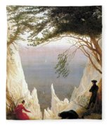 Chalk Cliffs Fleece Blanket